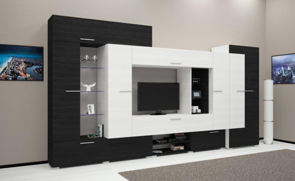Komfort 405cm-es Led-es modern szekrénysor: 139,900ft szekrénysor ...