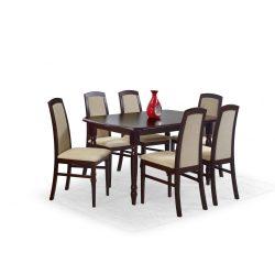 Arnold bővíthető étkezőasztal Sötét dió 150-190x80x75 cm