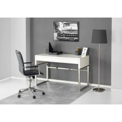 B-32 Fémkeretes fiókos íróasztal 120x60x76 cm