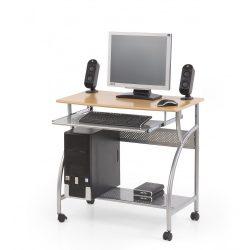 B-6 Számítógépasztal Éger színben 80x50x76 cm
