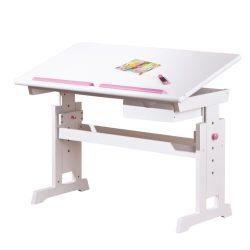 BARU Íróasztal dönthető asztallappal 109x55x62-88 cm