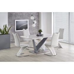 Cortez elegáns Laminált MDF tetős étkezőasztal 160x90x76 cm