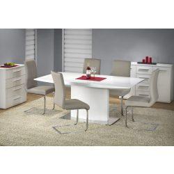 Elias magasfényű asztallapos étkezőasztal 180x90x76 cm
