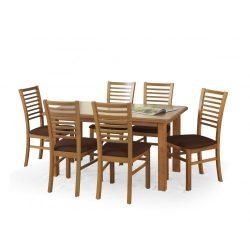 Emil étkezőasztal bővíthető asztallappal 140-180x80x75 cm