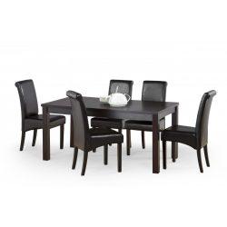 Ernest bővíthető étkezőasztal Wenge színben 160-200x80x74 cm