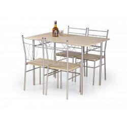Faust Fém étkezőagarnitúra 110x70x75 cm