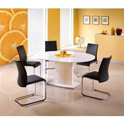 Federico ováltetős , bővíthető étkezőasztal 120-160x120x76 cm