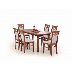Fryderyk bővíthető étkezőasztal Dió színben 160-240x90x74 cm