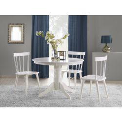 Gloster kör asztal Fehér színben Ø 106x75 cm