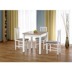 Gracjan étkezőasztal bővíthető aszutallappal  80-160x80x76 cm