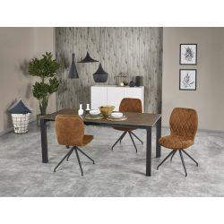Horizon beton színü bővíthető étkezőasztal 120-180x85x76 cm