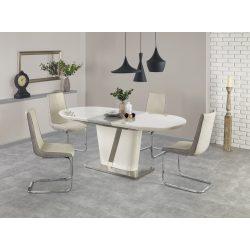 Iberis magasfényű bővíthető étkezőasztal 160-200x90x76 cm