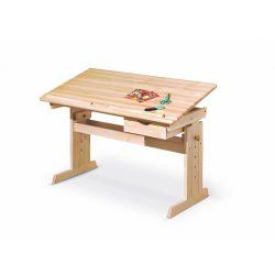 JULIA Állítható Íróasztal 109x55x63-96 cm