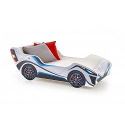 Lambo autós gyermekágy 162x74x56 cm