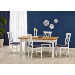 Leonardó bővíthető nagy asztaltetős étkezőasztal 160-250x90x77 cm