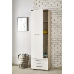Lima reg-1 polcos szekrény Sonoma tölgy, 1 ajtó 2fiók