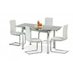 Logan 2 szürke bővíthető étkezőasztal 96-142x70x75 cm