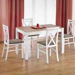 Maurycy étkezőasztal kinyitható asztallappal 118-158x75x76 cm