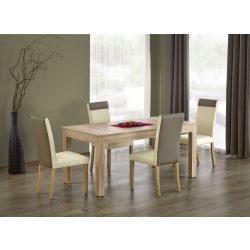 Seweryn óriás étkezőasztal Sonoma és fehér színben 160-300x90x76 cm