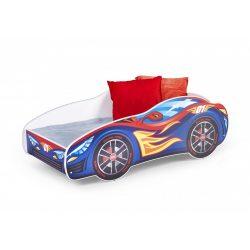Speed autós gyermekágy 151x75x55 cm