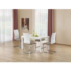 Stanford modern étkezőasztal Fehér színben 130-210x80x75 cm