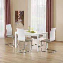 Stanford XL modern étkezőasztal Fehér színben 130-250x80x75 cm