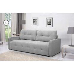 Blanco modern rugós kanapé, automata kiemelős, ágynemütartóval 218x93x90cm