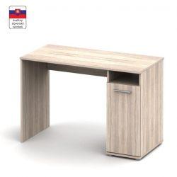 Noko- signa 21 egy ajtós PC asztal, sonoma és fehér színben