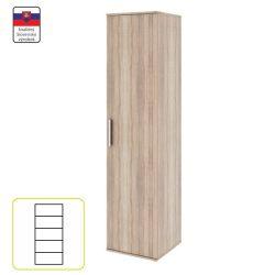 Dunaj-polcos-1-ajtos-szekreny-Typ03-sonoma-tolgy-s