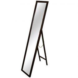 MALKIA TYP 4 tükör barna színű fakerettel,  29x145 cm