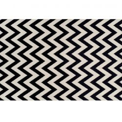 ADISA szőnyeg elefántcsont-sötétszürke 67x120 cm