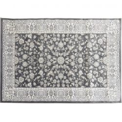 AZIR szőnyeg, sötétszürke minta, 67x120 cm