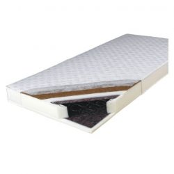 KOKOS MEDIUM Rugós matrac, egyoldalas ø140x200 cm